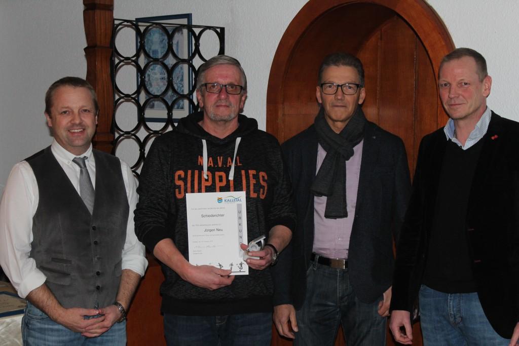 Mario Hecker, Jürgen Neu, Uwe Küster, Volker Busch